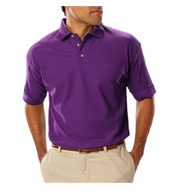 Custom Mens Teflon Treated  Pique Polo NO Pocket Mens