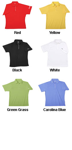 Ladies PLAYDRY® Horizontal Texture Polo by Reebok - All Colors