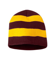 Sportsman Rugby Striped Knit Beanie