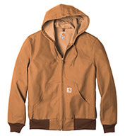 Custom Duck Active Jacket Water Repellent w/Thermal Lined Mens