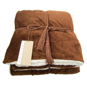Cozy Lambswool Microsherpa Blanket