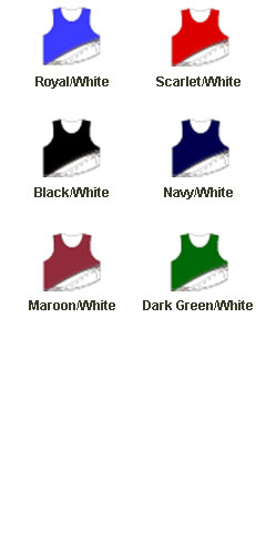 Adult Midfielder Sleeveless Reversible Lacrosse Jersey - All Colors