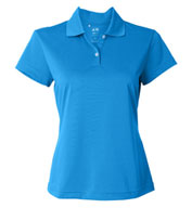 Custom Adidas Ladies Climalite® Short-Sleeve Pique Polo