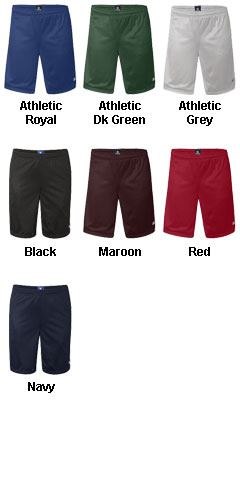 Champion 100% Long Mesh Short with Pockets - All Colors