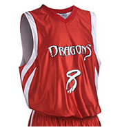 Custom Adult Downtown Reversible Basketball Jersey Mens