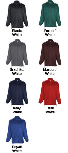Adult Brushed Tricot Razor Jacket - All Colors