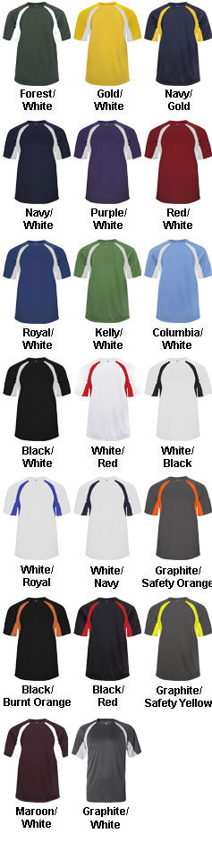 Badger Adult B-Dry Hook Tee - All Colors