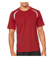 Alo™ Mens Short Sleeve Colorblock T-shirt