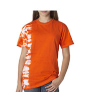 Custom Tie-Dye Youth One-Color Fusion Tee