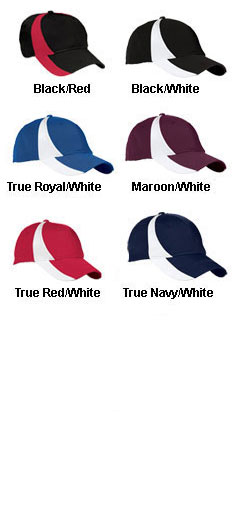 Youth Dry Zone� Nylon Colorblock Cap - All Colors