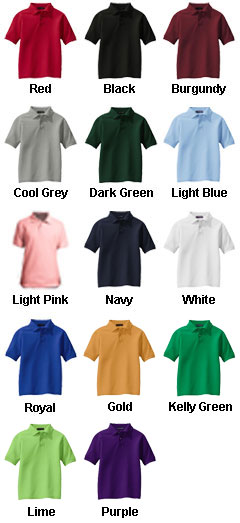 Youth Silk Touch™ Sport Shirt - All Colors