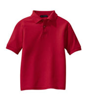 Custom Youth Silk Touch™ Sport Shirt