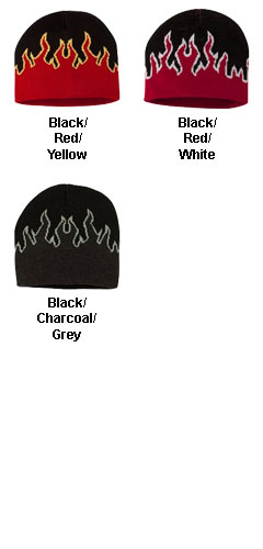 Magic Flame Knit Beanie Cap - All Colors