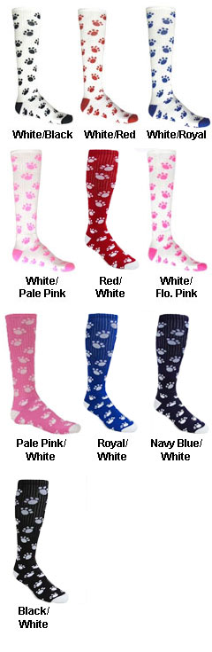 Adult PAWS All Sport Socks - All Colors