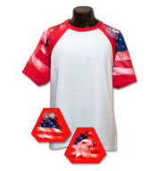 Custom Adult  Patriotic Theme Tshirt