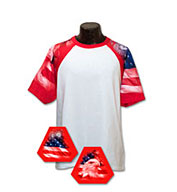 Custom Youth Patriotic Theme Tshirt