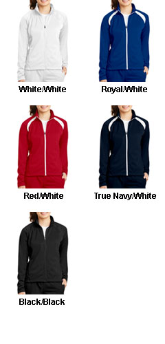 Ladies Tricot Track Jacket - All Colors