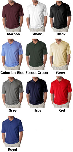 UltraClub Adult Cool-N-Dry� Sport Polo - All Colors