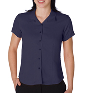 Ladies Bedford Cord Camp Shirt by Cubavera