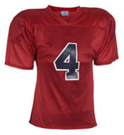 Custom Adult Flag Star Football Jersey