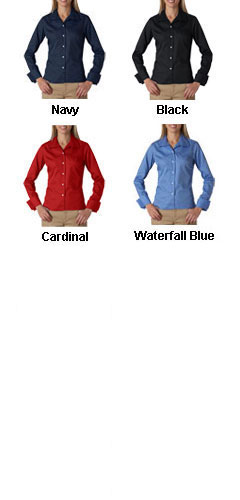 Ladies Stain Resitant Whisper Elite Twill Shirt - All Colors