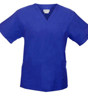 Custom V-Neck Unisex Scrub Top