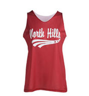Girls Mini Mesh Reversible Tank