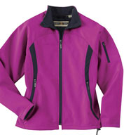 Ladies Performance Brushed Back Soft Shell Jacket
