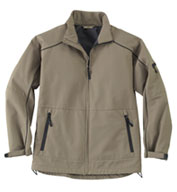 Custom Mens Performance Mid-Length Soft Shell Jacket Mens