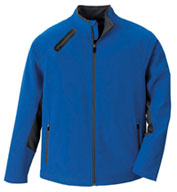 Custom Mens 3-Layer Soft Shell Jacket Mens