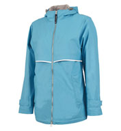 Custom Womens New Englander Rain Jacket by Charles River Apparel