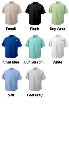 Columbia Mens Tamiami II Short  Sleeve Woven Shirt - All Colors