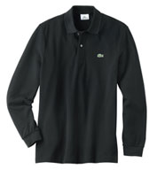 Lacoste Mens Classic Pique Long  Sleeve Polo