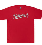 Custom Washington Nationals Youth Replica Jersey