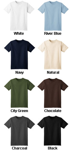 Port & Company Organic Cotton T-shirt - All Colors