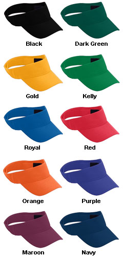 Adult Sport Flex Wicking Visor - All Colors