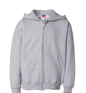 Champion Youth Heavyweight Full-Zip Hooded Sweatshirt