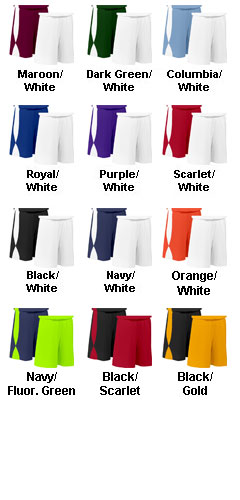 Adult Overdrive Reversible Short with 11 Inseam - All Colors