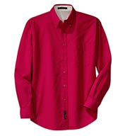 Custom Long Sleeve Easy Care Shirt Mens