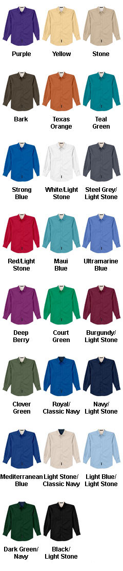 Tall Long Sleeve Easy Care Shirt - All Colors