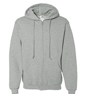 Adult Russell Dri-Power Fleece Full- Zip Front Hood