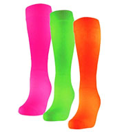 Adult Fluorescent Patriot Athletic Tube Socks