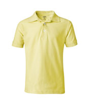 Custom French Toast Youth Short Sleeve Pique Polo