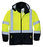ANSI Class 3 Safety Windbreaker