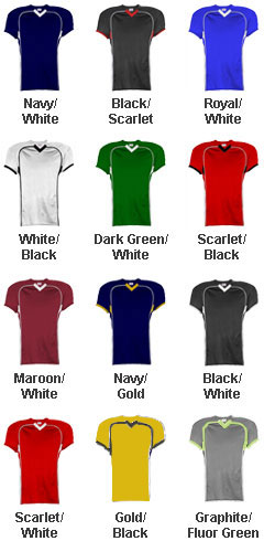 Adult No Huddle Football Jersey - All Colors