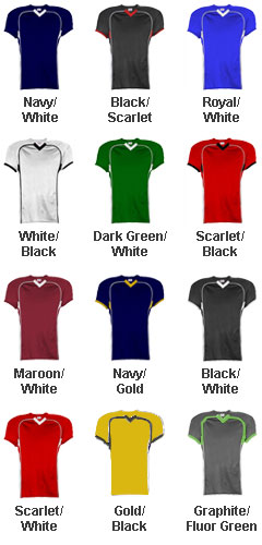 Youth No Huddle Football Jersey - All Colors