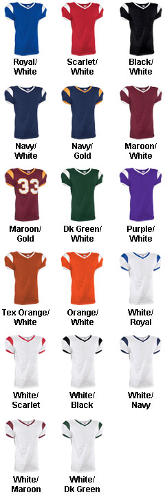 Adult Grinder Steelmesh Football Jersey - All Colors