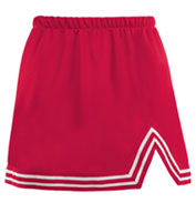 Custom Adult A-Line Cheer Skirt With V-Notch