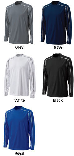 Long Sleeve Wicking T-shirt by Charles River Apparel - All Colors