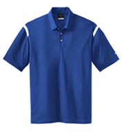 NIKE GOLF - Dri-FIT Shoulder Stripe Sport Shirt